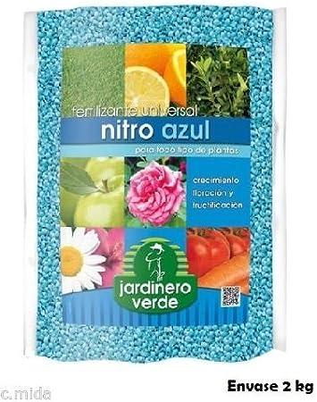 JARDINERO VERDE Fertilizante Universal 2 Kg. para Todo Tipo de Plantas