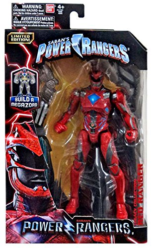 Limited Edition Mighty Morphin Power Ranger Legacy Movie Figures Toys R Us Exclusive Red Ranger