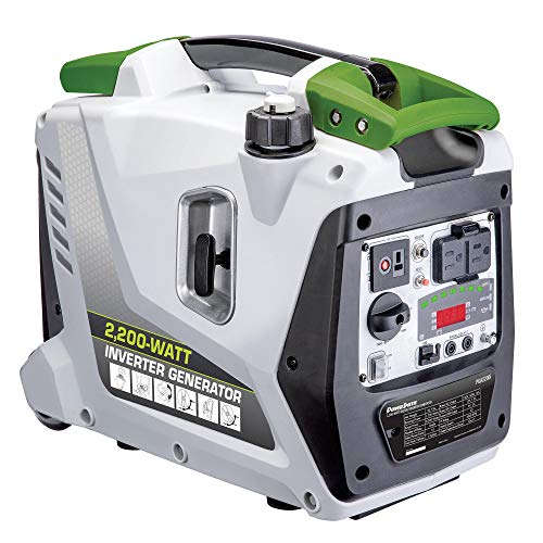 POWERSMITH PGA2200i Portable 2200 Watt 1 Gallon Gas Power Inverter Generator Uncategorized
