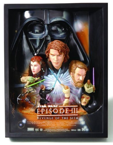 Star Wars Revenge of the Sith Sculpted Poster 3-D by Code (Sculpted Poster)