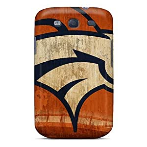 Snap-on Case Designed For Galaxy S3- Horse Wallpaper Denver Broncos