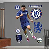 English Premiership Chelsea Diego Costa FC Fathead Real Big Decals, One Size, Multicolor
