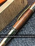 USS New Jersey Battleship Pen Teak decking wood &COA