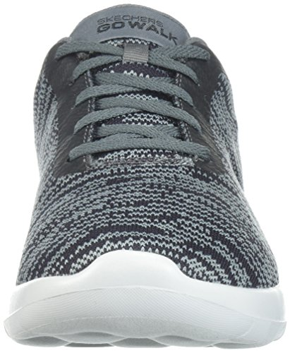 Black Walk Homme Amazing Gris Skechers Baskets Go Max Charcoal CAqC8wz