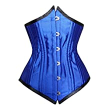 Camellias 26pc Double Steel Boned Dramatic Points Corset Waist Training Shaper