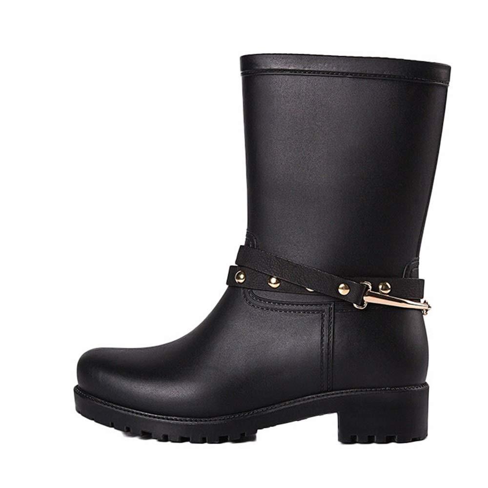 Wagsiyi scarpe da pioggia scarpe scarpe scarpe da cucina gomma media scarpe in gomma scarpe da - Scarpe antinfortunistiche da cucina ...