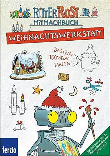 Card Verlag Weihnachtskarten.Ritter Rost Weihnachtswerkstatt Amazon Ca Jörg Hilbert Books