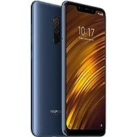 Xiaomi Pocophone F1 Smartphones 6.18'' Pantalla Completa Pantalla Grande LiquidCool Technology 4000mAh Fast Charging, 6GB RAM + 128GB ROM Snapdragon 845 Octa Core, Tarjetas SIM Dobles (Azul)