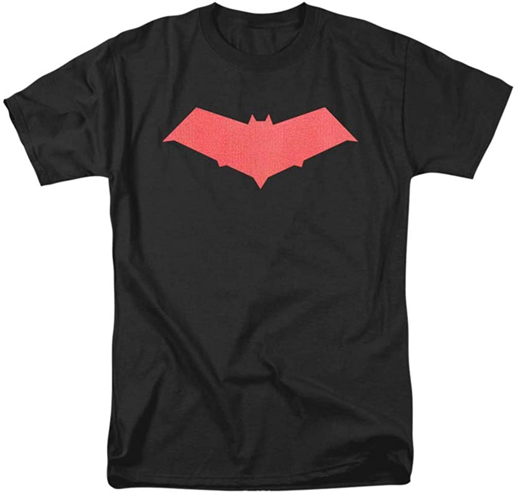 Batman DC Comics Under The Hood Jason Todd Hood Bat Logo Big Boys T-Shirt