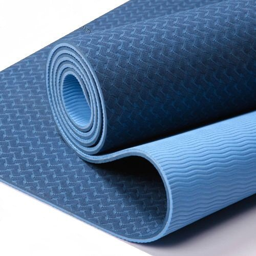 FloAthletika Yoga / Pilates Mat - Pro Premium Mat & Carrying String ~ Thick 1/4 Inch 2-sided Exercise Mat Great Grip Skidless Lightweight Latex-free Best Eco-Friendly Workout Mats
