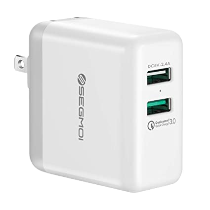 Amazon.com: Carga Rápida USB 3.0 Adaptador de pared portátil ...