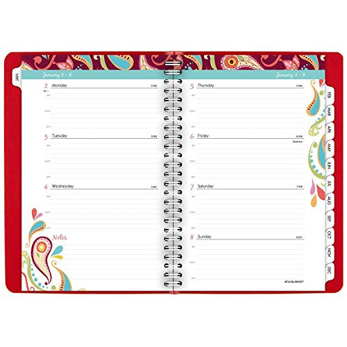 AT-A-GLANCE Weekly / Monthly Appointment Book / Planner 2017, 5-1/2 x 8-1/2