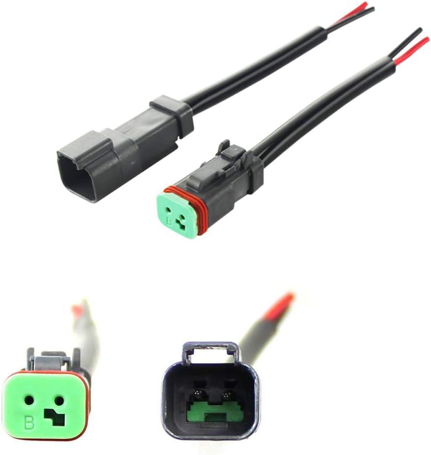 Laduup 20 Conectores de Cable Abrazaderas de Cable bornes de conexi/ón Impermeables Ideal para Husqvarna Automower 3M Scotchlok 314 Juego de reparaci/ón