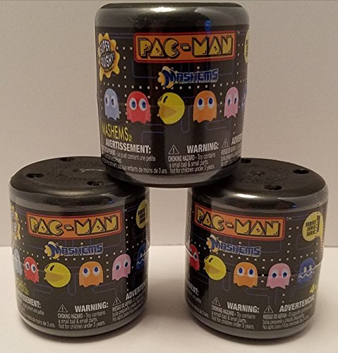 Man Face Pac (Pac-man Licensed Mashems Blind packs - 3 pack by T4K)