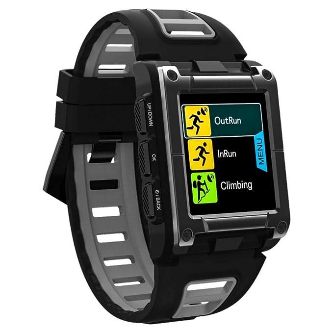GPS Smart Pro Sports Watc - S929 reloj inteligente reloj de natación profesional en color pantalla + Touch IP68 reloj pulsera a prueba de agua soporte ...