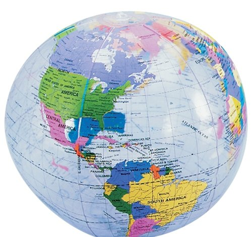 12'' CLEAR GLOBE INFLATE, Case of 432 by DollarItemDirect
