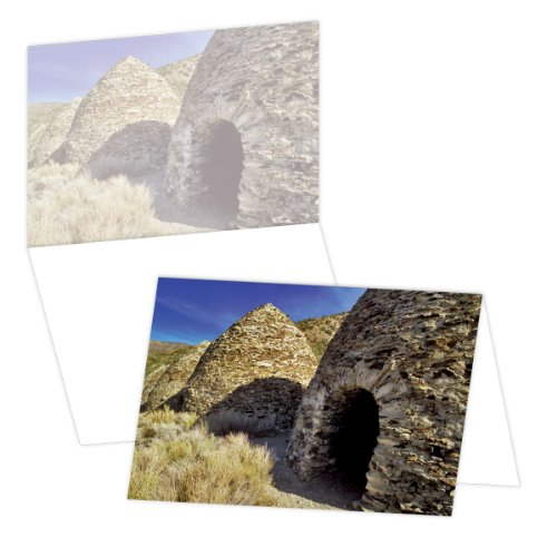 Used, ECOeverywhere Charcoal Kilns, Death Valley Boxed Card for sale  Delivered anywhere in USA