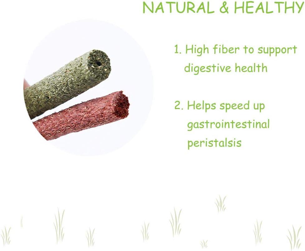 Rabbits Chinchilla Bunny 25pcs Mixed Natural Grass Stick for ...