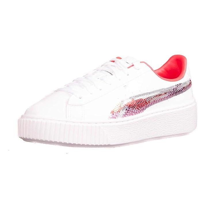 Puma Basket Platform Trailblazer Sq, Sneakers Basses Fille