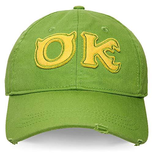Disney Monsters University Oozma Kappa OK Baseball Cap for Adults Green (Monster University Baseball Hat)