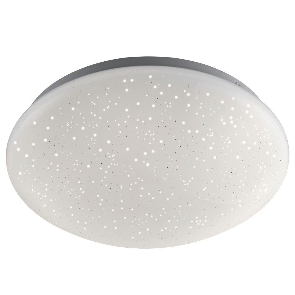 RGB LED Decken Leuchte Dimmer Fernbedienung Sternenhimmel Funkel Lampe Leuchten Direkt 14241-16 [Energieklasse A+]