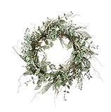 Sullivans 22'' Artificial Spring Wreath (Succulent)