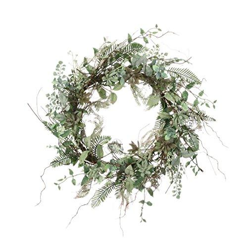 Sullivans 22'' Artificial Spring Wreath (Succulent) by Sullivans