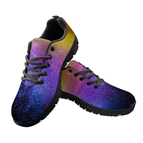 Space DESIGNS Sneaker Galaxy U Men FOR Mesh Shoes Unisex Glaxy 4 Runinng Women CqF5tBw