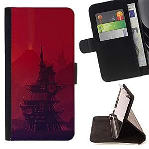 Momo Phone Case / Flip Funda de Cuero Case Cover - Barco pirata de dibujos animados;;;;;;;; - Sony Xperia Z2 D6502