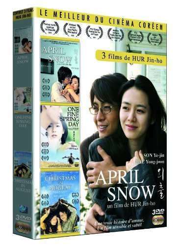 Coffret Jin-Ho Hur : April Snow ; Christmas in August ; One fine spring day