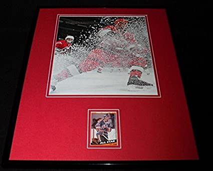 Signed Paul Coffey Photo - Framed 16x20 Display - Autographed NHL ... becf1fbff