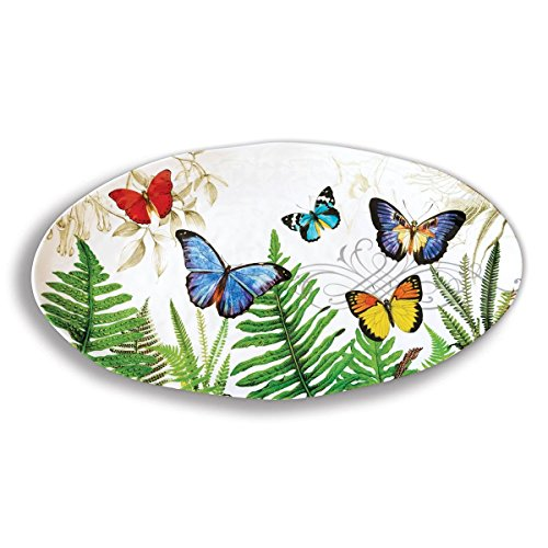 Michel Design Works Melamine Oval Serving Platter - Platter Design Oval