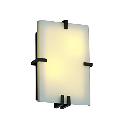 Justice Design Group Lighting Fsn5551opalnckl Fusioncollection Clips