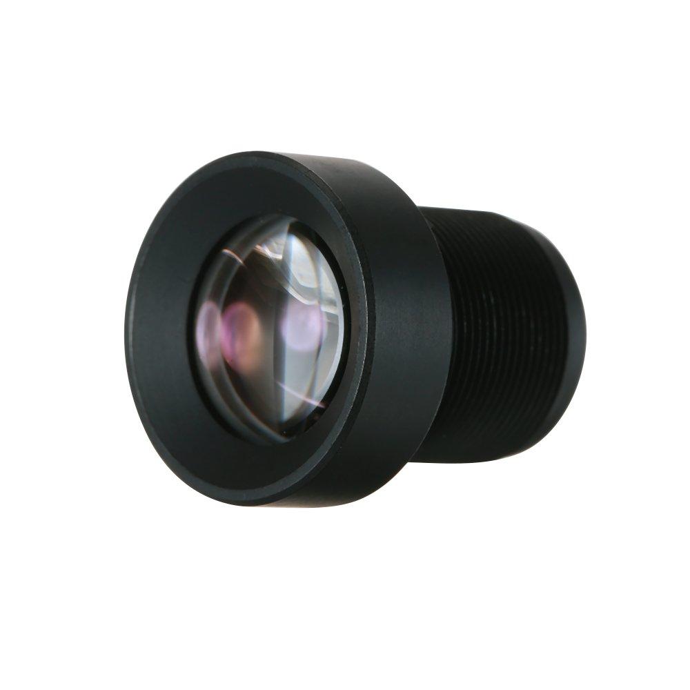 KKmoon 1//3 25mm Lens CCTV Lens M12 Mount Lens Wide Viewing Angle 12 Degree 2.0 Megapixel Suitable for 1//3 /& 1//4 CCTV Security Camer Sensor