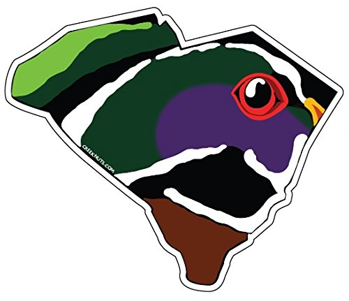 Mountain Creek Anglers South Carolina Wood Duck Sticker Decal