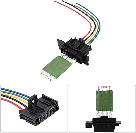 Sanon Heizungsmotor Gebläse Lüfter Widerstand Mit Kabel Elektronik