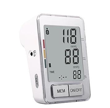 HRRH Brazo de Tipo Completa automática electrónicos de presión Arterial Monitor presupuesto Intelligent Voice LCD Medición