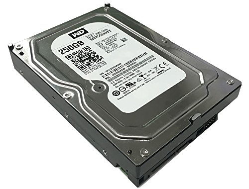 Western Digital Caviar Blue WD2500AAKX 250GB 7200 RPM 16MB Cache SATA 6.0Gb/s 3.5in Internal Hard Drive (Renewed) w/1 Year Warranty 250 Gb Wd Caviar