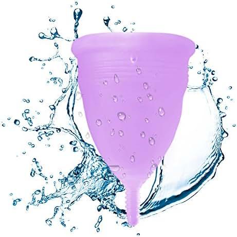 Blossom Menstrual Cup (Large, Lavender)
