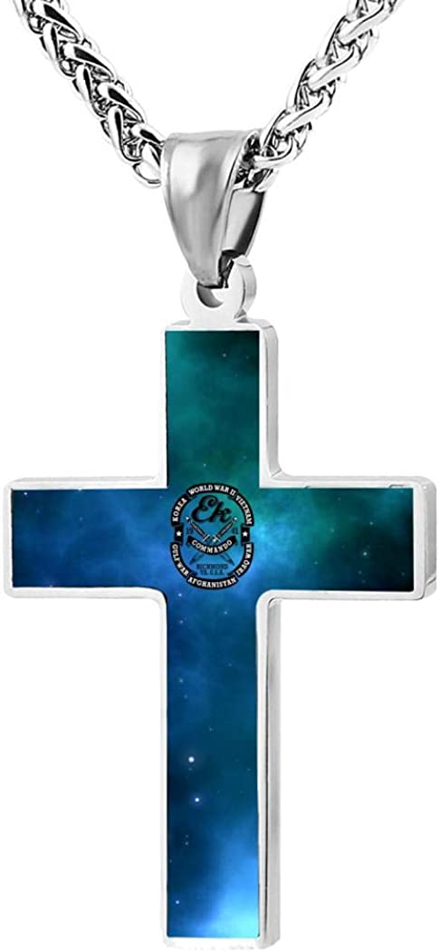 Wnqonnq jewelry men and women zinc alloy simple fashion cross pendant necklace