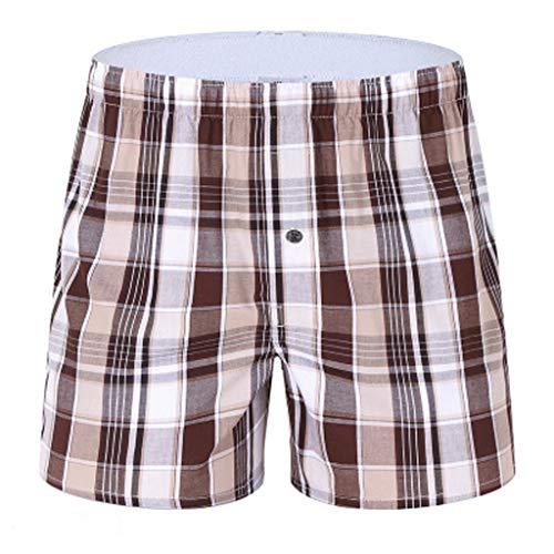 Mwzzpenpenpen Men's Lightweight Boxer Briefs Pajama Household Home Shorts Elastic Beach Underwear Loose Cargo Pants