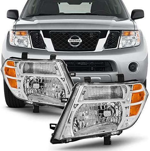 Passenger side WITH install kit 2008 Nissan TITAN Post mount spotlight 6 inch -Chrome LED