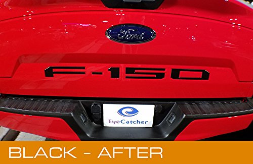 Ford F150 2018 Tailgate Insert Letters (Black)