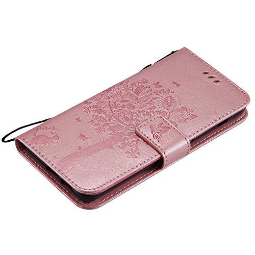 Coque Folio mince Pochette Or De Protection Rose Antichoc Case Magnétique Flip A8 2018 Herbests En Housse Ultra Fermeture Protection Etui Galaxy vert Cuir ddxT76C