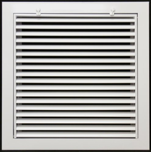 20 x 20 Aluminum Return Filter Grille - Easy Air FLow - Linear Bar Grilles by Metal-Fab