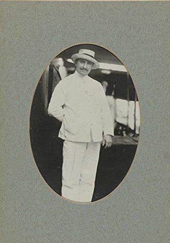 [Classic Art Poster - Portrait of a man in costume tropics, anonymous, c. 1880 - c. 1920 17