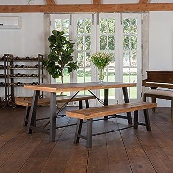 Rosario Outdoor Wood 3-piece Picnic Dining Set