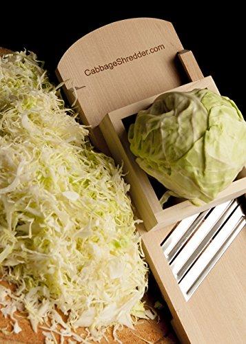Cabbage Shredder & Slicer for Finely Cut Sauerkraut & Other Vegetables. by CabbageShredder.com (Image #1)