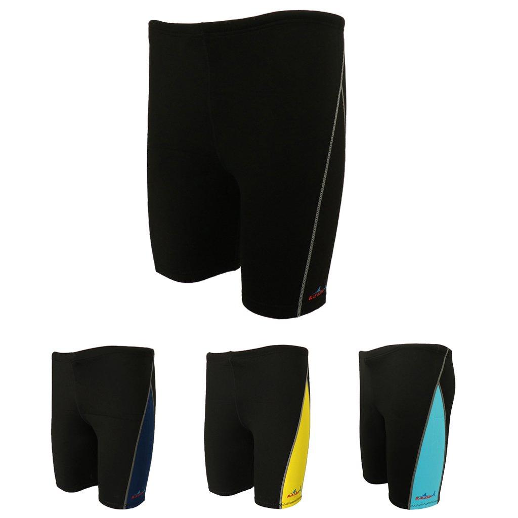 simhoa Men 1.8mm Neoprene Wetsuit Diving Pants Snorkeling Surfing Rash Guard Shorts