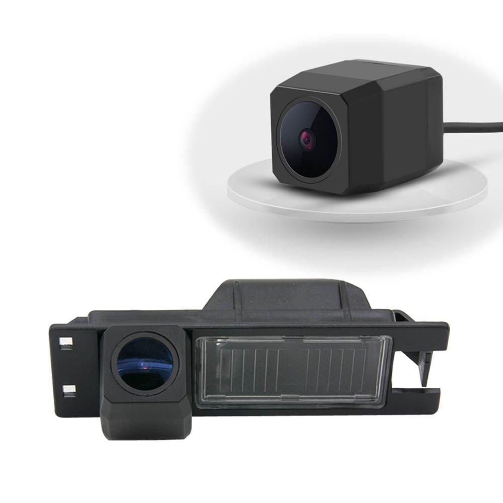 Dynavsal Super pro cámara de definición de vehículo 170 cámara de visión nocturna de gran angular universal cámara de visión trasera IP68 para Astra H/Corsa D/Meriva A/Vectra C/Zafira B, Grande